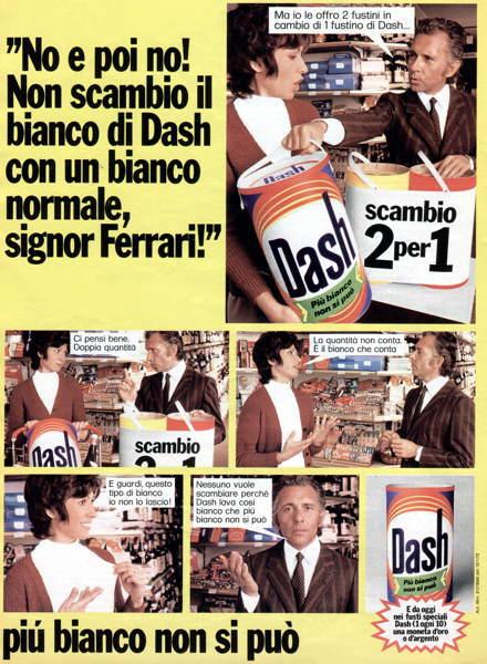 pubblicità dash