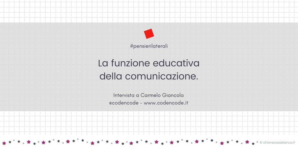La funzione educativa della comunicazione