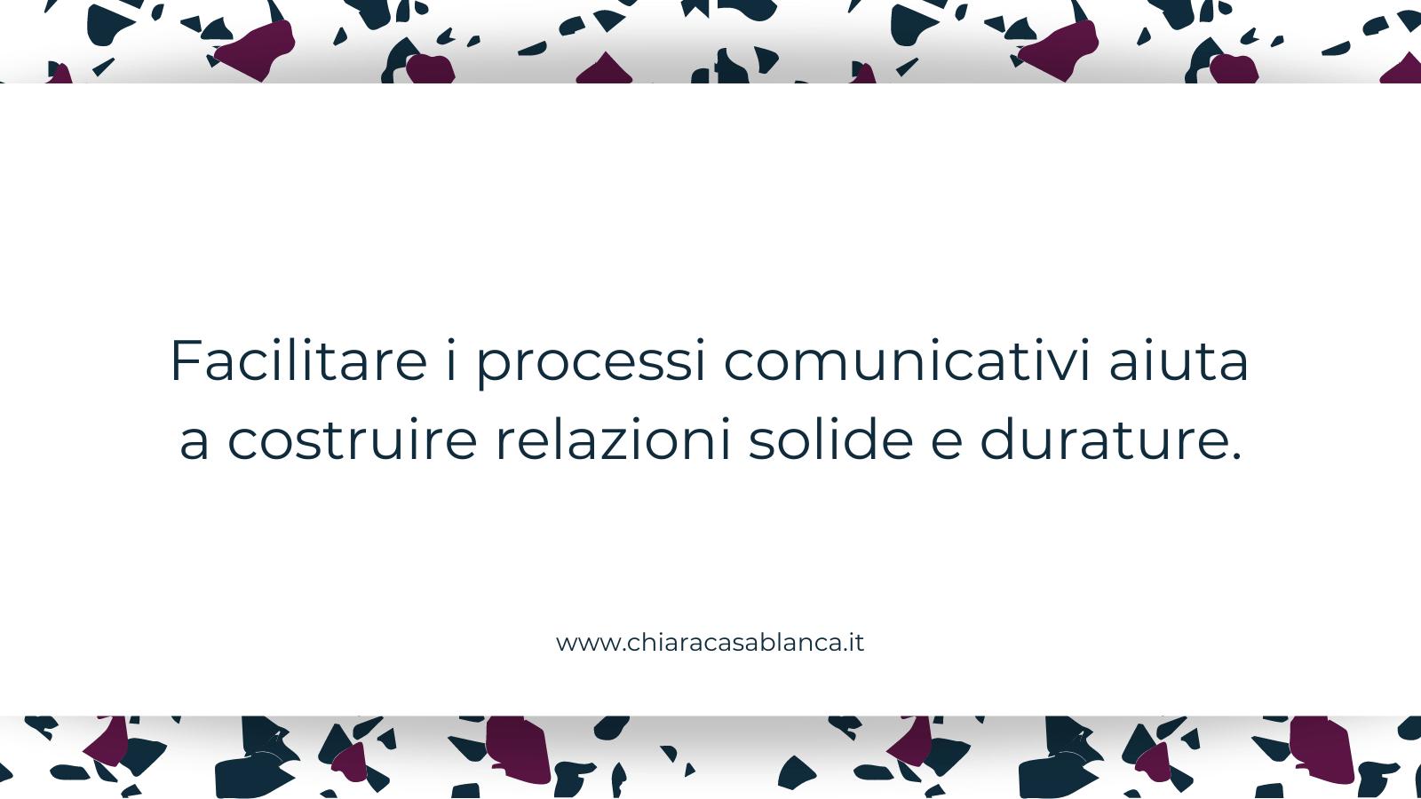 Facilitazione di processi comunicativi